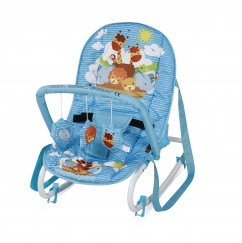 Детский шезлонг Bertoni (Lorelli) TOP RELAX (Blue Adventure)